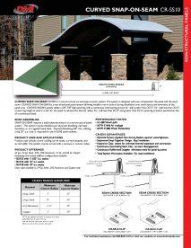 CR-SS10 Cut Sheet