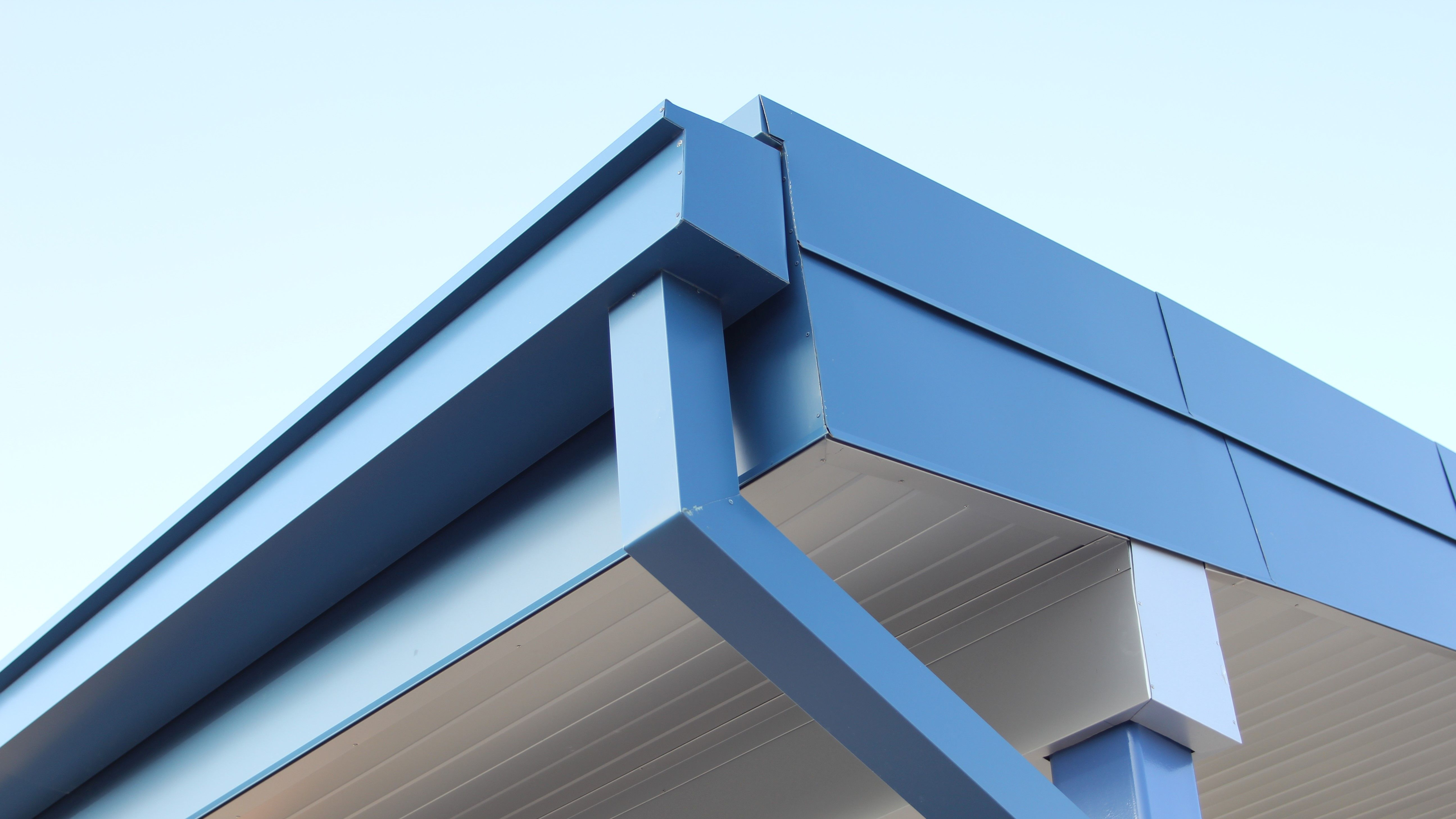Custom Gutter Dynaclad Water Control Dimensional Metals