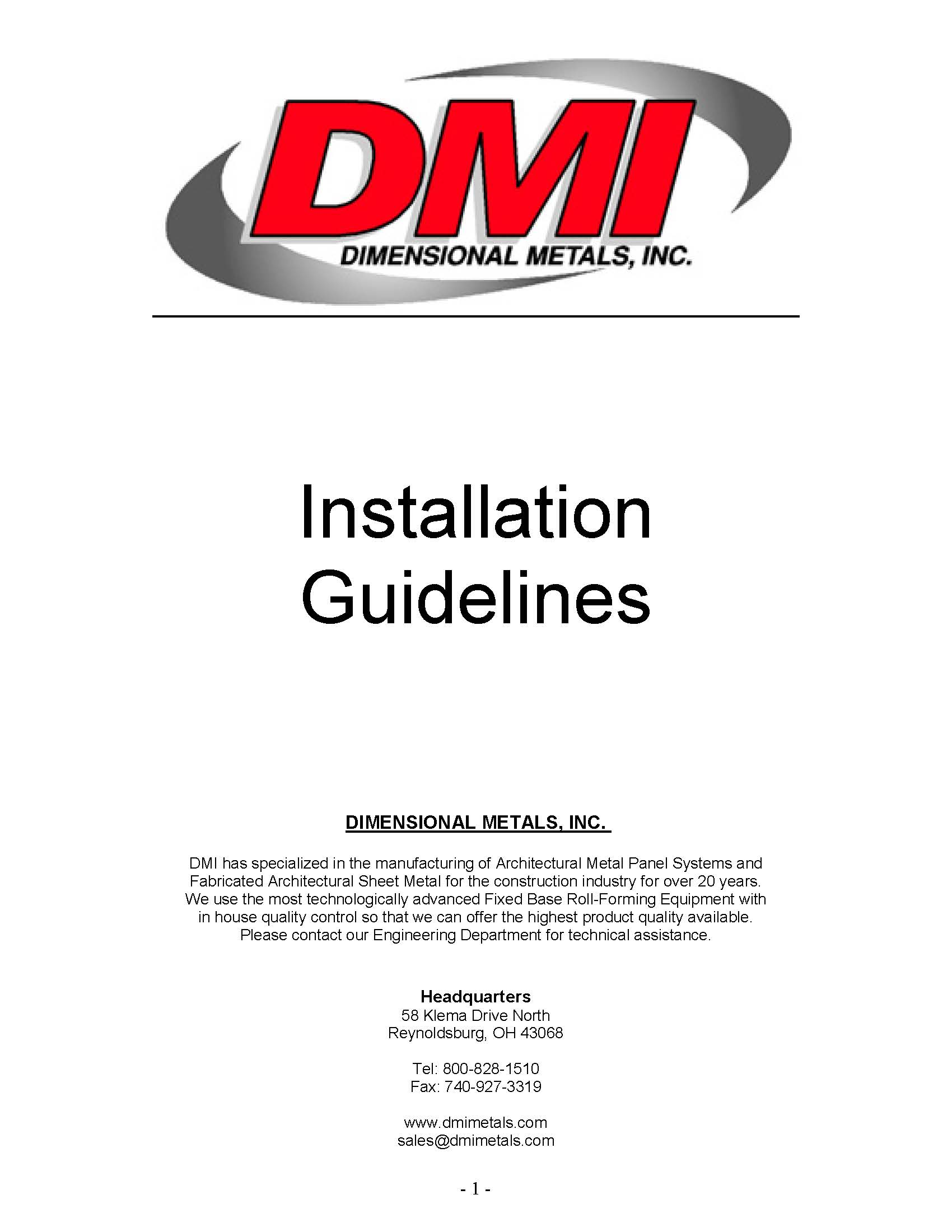 dmi-panel-installation-guidelines