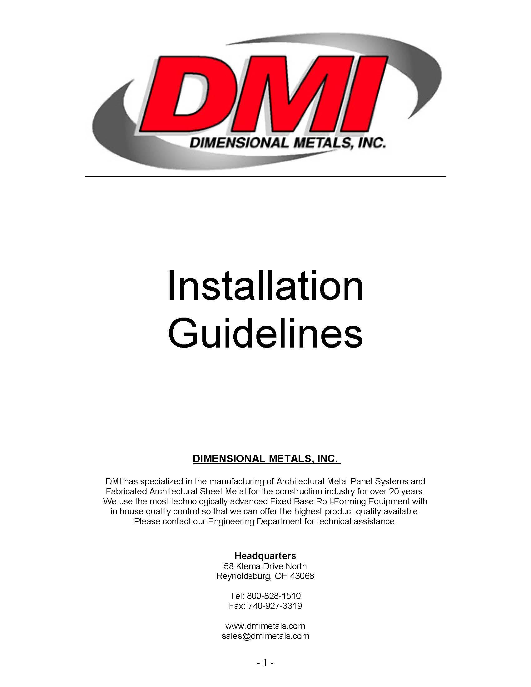 dmi-panel-installation-guidelines