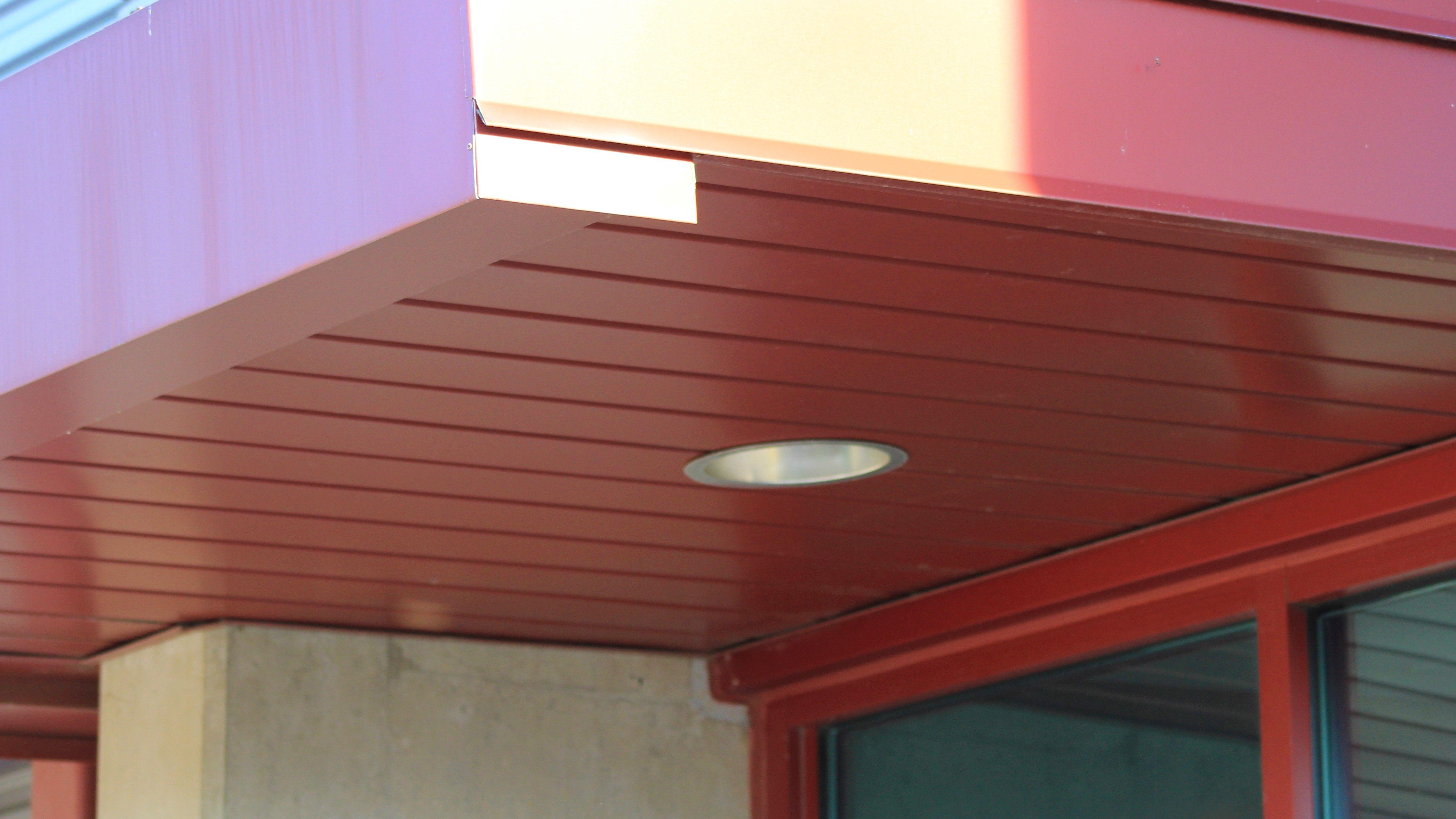 v groove soffit vs05 metal soffit concealed fastened dimensional