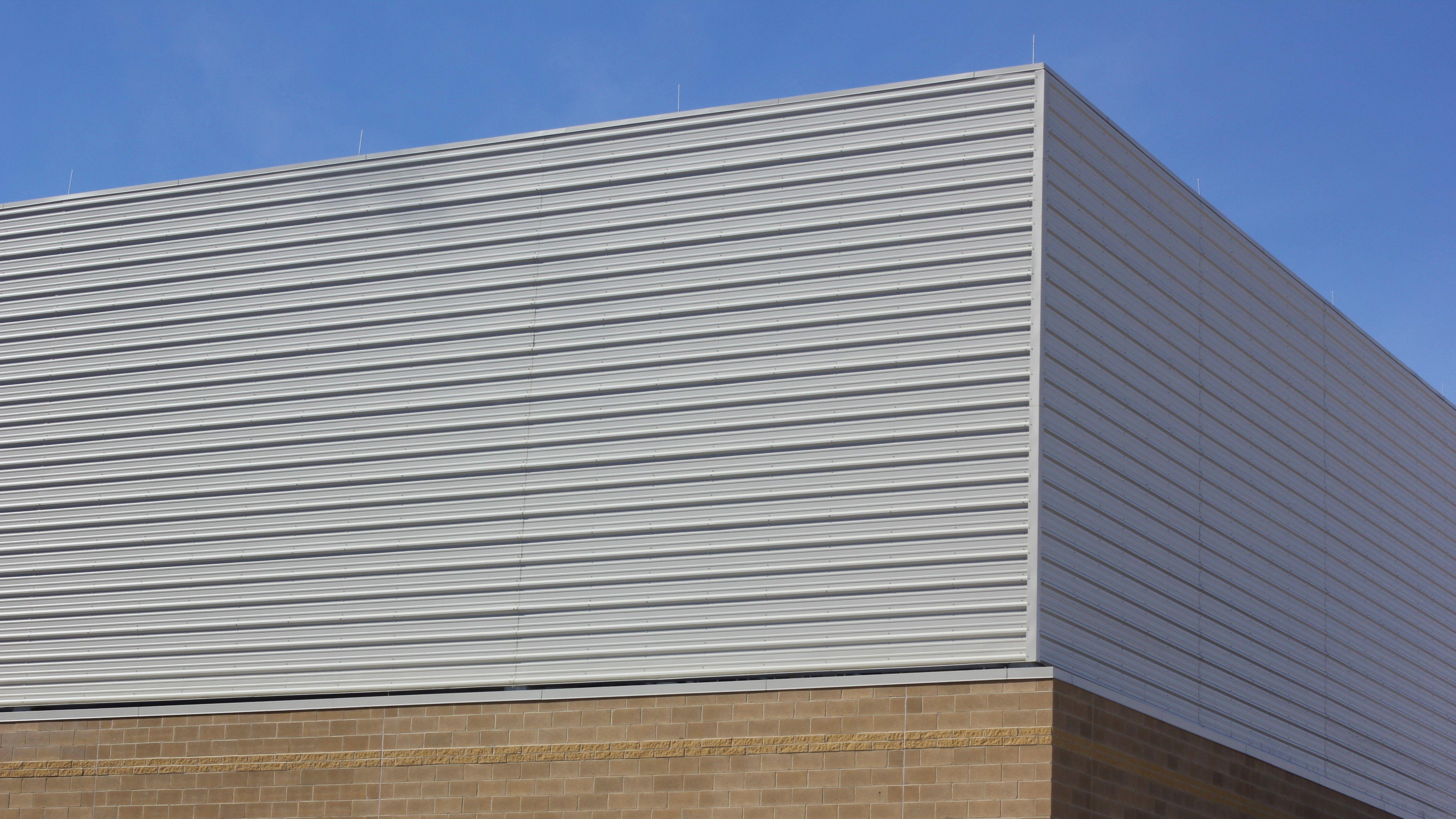 R Panel Wprp Metal Wall Exposed Fastener Dimensional