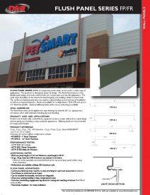 FLUSH SERIES Cut Sheet