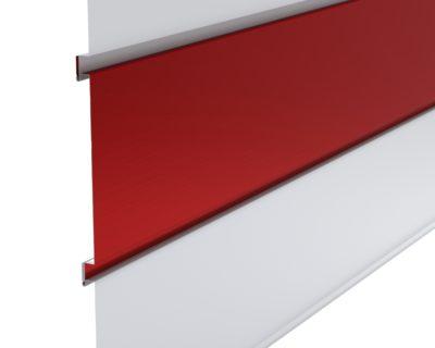 Flush Reveal FR Concealed Fastener Metal Wall Panel