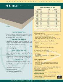 H-Shield Cut Sheet