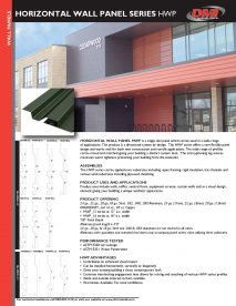HWP Cut Sheet