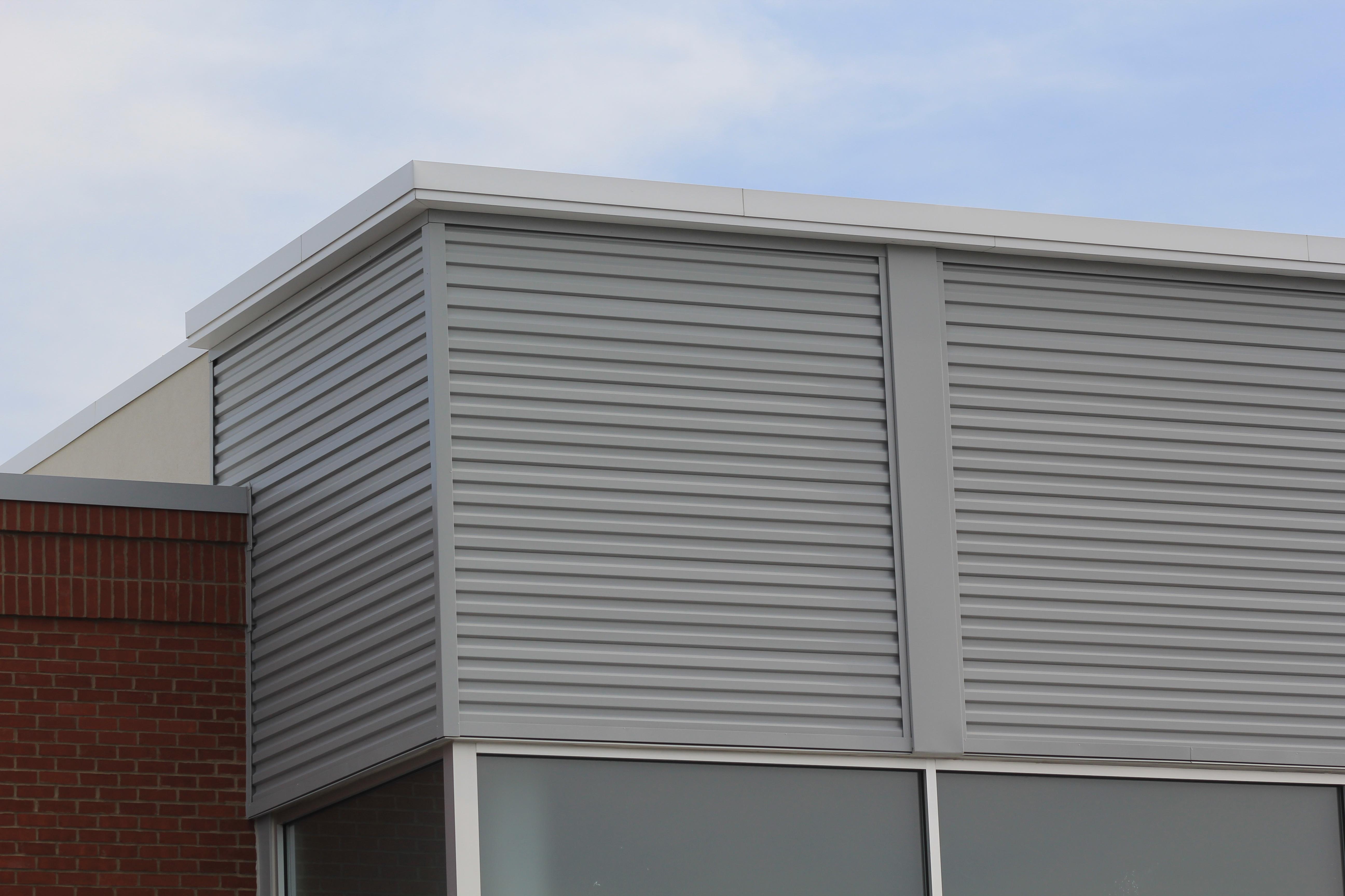 Horizontal Wall Panel Hwpb12 Metal Concealed Fastener