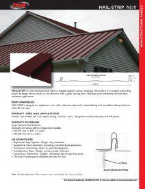 NS10 Cut Sheet