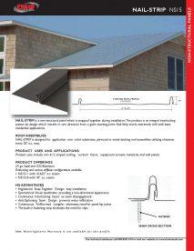 NS15 Cut Sheet