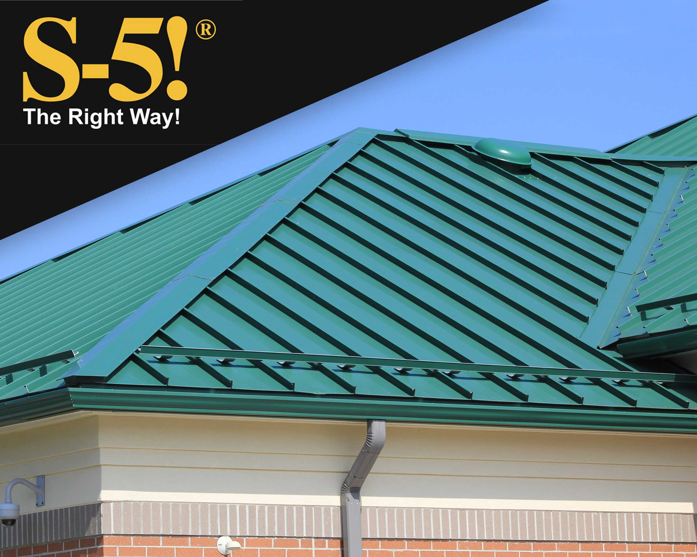 S5 ColorGard Snow Retention System for Standing Seam Metals